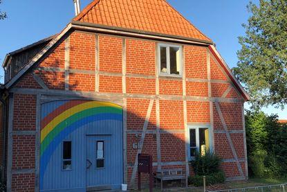 Das Regengogenhaus der Kirchengemeinde Krummesse - Copyright: Katja Launer